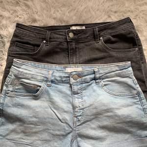 Två par shorts som bara legat i min garderob och tagit plats, shortsen är i samma modell och har fyra fickor! Fickorna på rumpan är små som formar rumpan snyggt☺️ för båda shortsen tar jag 100kr+ frakt!💓 kan diskutera priset