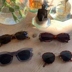 Solglasögon 60:-/par. Skickas mot fraktkostnad eller hämtas i centrala Sthlm.