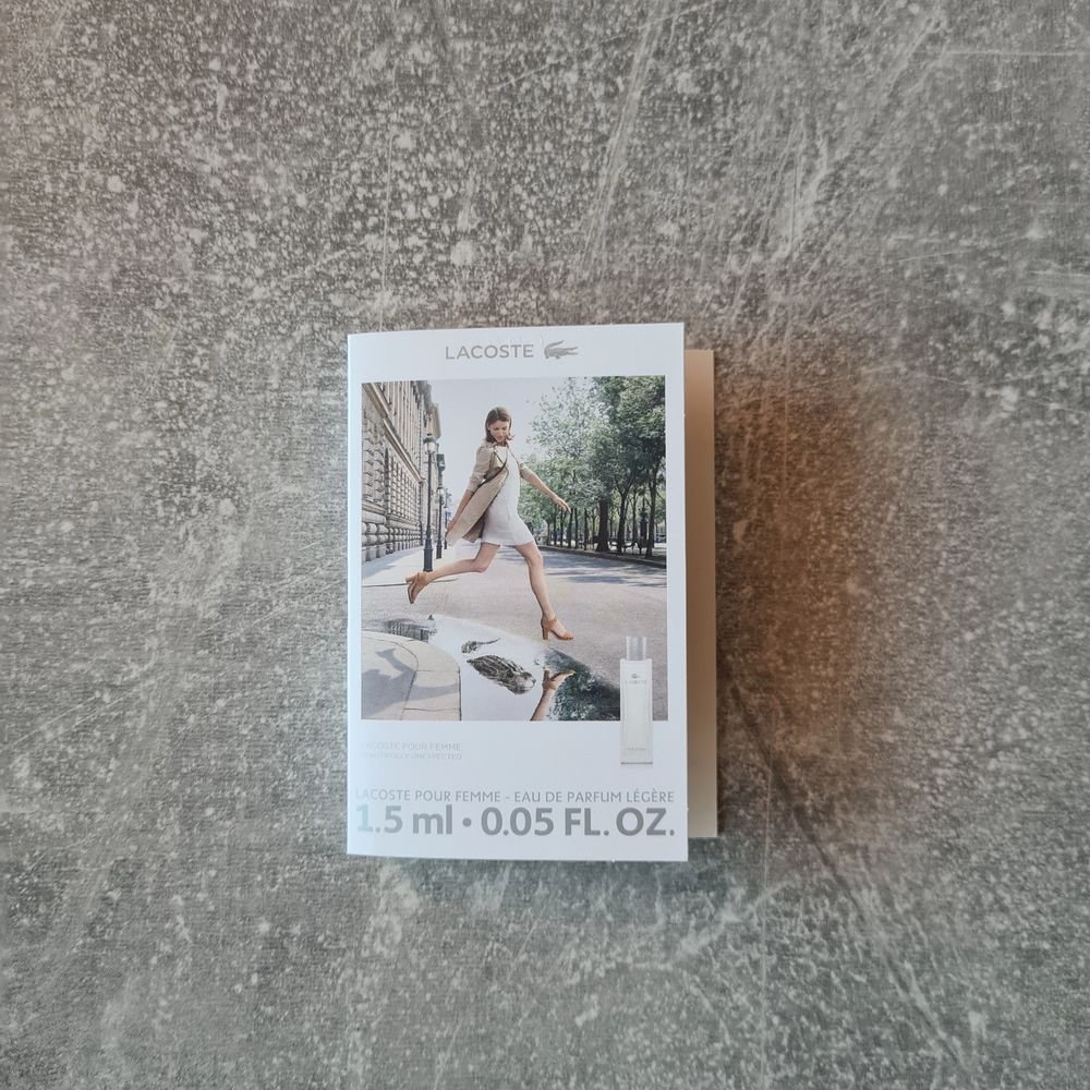 Lacoste parfym, 1,5ml. Ny och plomberad, äkta. Pris: 25 kr + porto 12 kr 😊. Övrigt.
