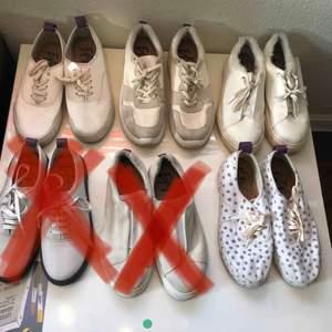 Säljer alla mina eytys skor för att jag inte har användning för dem och att jag måste samla pengar. Hest hämtning eller mötas på gröna linjen