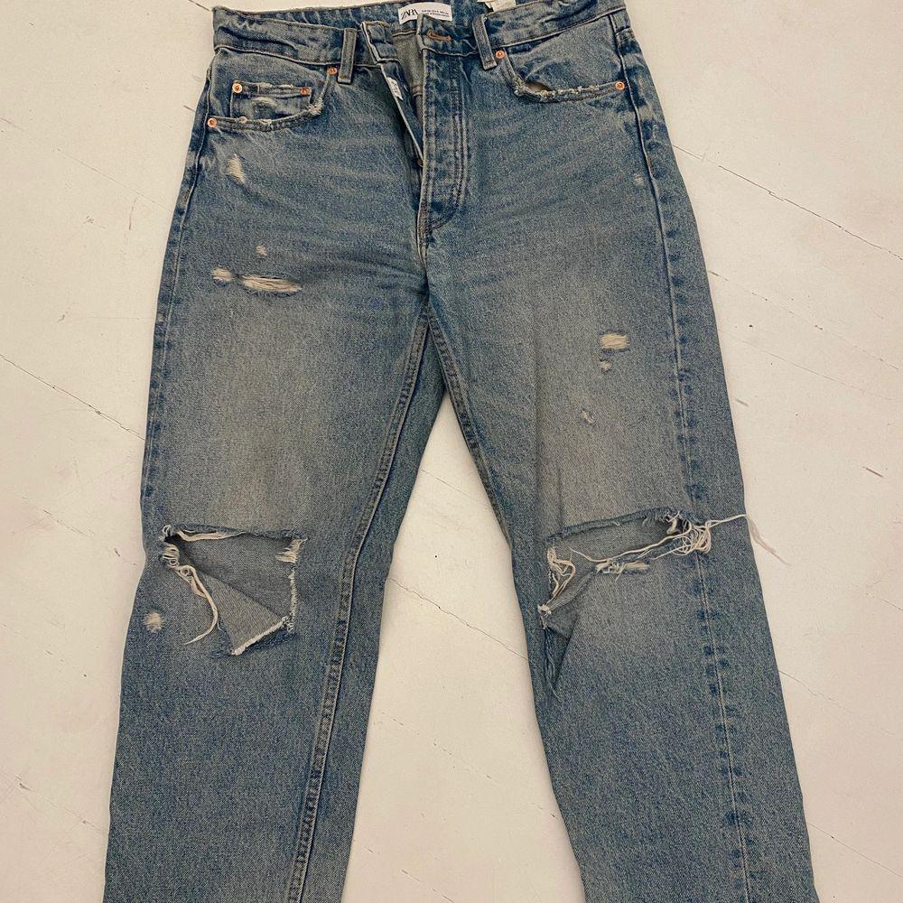 Jeans från zara i bra skick. Jeans & Byxor.