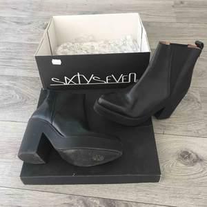 Svarta skor från sixtyseven. Storlek 39.  Ny pris 1149:-