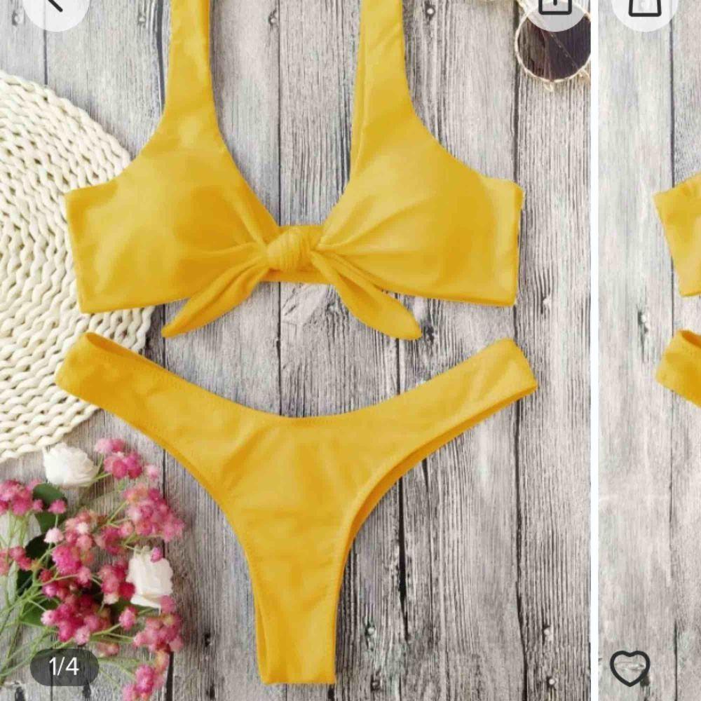 Jätte fin bikini från Zaful. Endast prövad :) Köparen står för frakten . Övrigt.