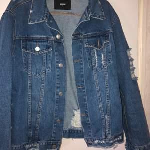 Jacka som aldrig används stl xs jackan är oversize