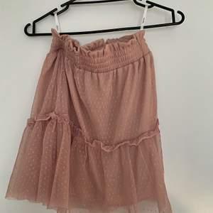 Rosa kjol från SheIn i storlek S, aldrig använd men glömde skicka tillbaka