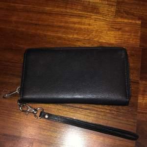 Använd 2-3 gånger. Väldigt bra sick. Rymlig plånbok.