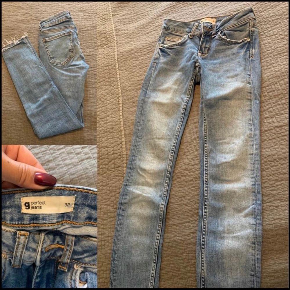 Jeans paket säljes i storlek 32/XS. Finns en svart till som nt finns med i bilder. Jeans & Byxor.