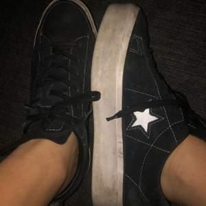 One Star converse storlek 38 använda 20 gånger kanske!