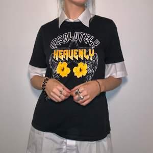 ascool t-shirt med tryck! skjortan under ingår ej, men går att köpa på min profil!<3