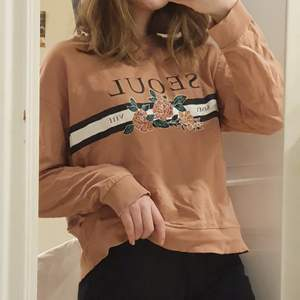 Fin sweatshirt från H&M i storlek S! Använt sparsamt och i bra skick!❤ köparen betalar frakten!