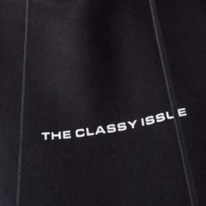 hoodie från Classy Issue i storlek small. Den är unisex i modellen. Fint i skick! Använd 1-2 gånger, kommer från rökfritt hem 🚬  Köpt för 1000 kr. Köparen står för frakten om inget annat avtalas 🚚