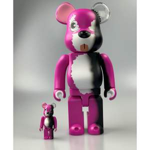 "🔌 Bearbick Breaking Bad ""Pink Bear"" 100% & 400%  - Con: Brand New                                                            - Vårt pris: 1599kr                                                          - Retail price: ~ 2000kr                                     #PufferyPlug"