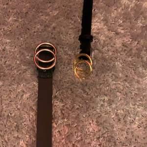 Två bälten från H&M 50 kr st + frakt elr båda för 100  ink frakt💕