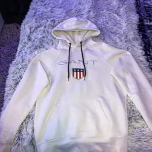 Vit gant hoodie, använd 2 gånger
