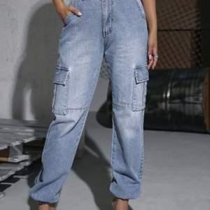 Ett par byxor från SHEIN som har används 1-2 gånger. Om du har några frågor eller vill ha fler bilder kontakta mig