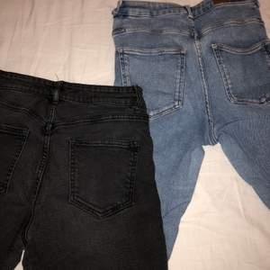 Snygga jeans som sitter som en smääääck på rumpan 🍑🍑 köpta på Kappahl och bik bok!!!😍 man får båda!!!