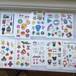 Nya tattueringar! 31kr per 10 st set inkluderad frakt! Varenda foto är ett set!