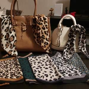 Aldo Brown Handbag 250kr                                          Giuliana White Handbag160kr                         Handbag Scarfs 25kr Per item