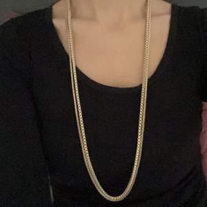 2 guld halsband i samma modell men olika storlekar✨ båda är i väldigt fin skick✨ 50 kr styck✨ frakt 11 kr📦