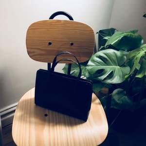 Mörkbrun kuvertväska köpt Secondhand!