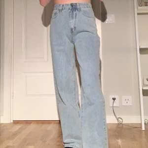 Sjukt snygga jeans från shein, men som tyvärr är för stora för mig.
