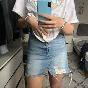 Så himla fin jeans kjol så är osäker på om jag ska sälja, storlek 32 (XS) ⚡️GRATIS FRAKT⚡️