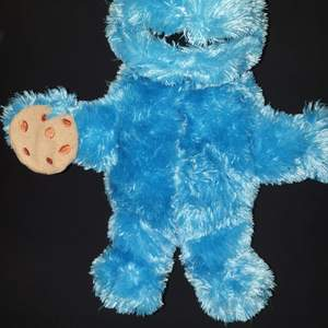 Cookie monster Hand docka.