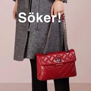 Hej! Jag söker en röd kurt geiger väska i kensingtong modellen den större eller den mindre vilken spelar ingen roll. Kontakta mig men prisförslag om du vill sälja❤️