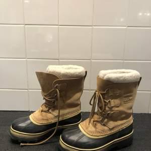 Vinter skor från Sorel. Aldrig använda! Helt nya, dom var fel i storleken. Storlek 38.