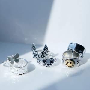 Har fått in massa nya ringar i Sterling silver 925! Kolla in min profil för mer info. Paketpris vid köp av flera ringar ✨🧚🏼🥰