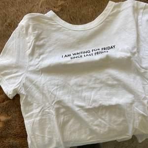 Vit basic tröja från zara!!
