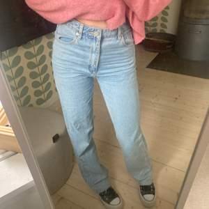 Jättesnygga ljusa jeans från Abrand Jeans i storlek 26 som tyvärr lite för stora! Nypris: 900kr