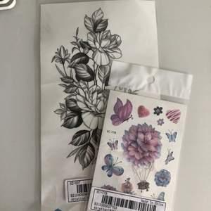 Två fake tatueringar från shein