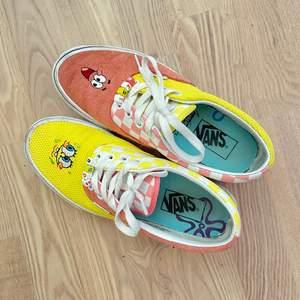 Säljer best friends vans spongebob skor. Storlek 38, mellan använda och köpta för ett halvår sedan.