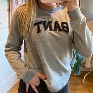 superfin grå gant tröja/sweater i storlek S i superskönt material🥰🥰  orginalpris 500kr