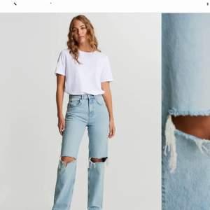 Intressebolag på mina Jeans från Gina tricot i strl 38. Jätte bra skick. Skriv för fler bilder