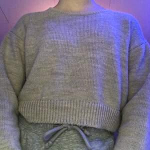 Beige stickad tröja från nakd