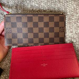 Äkta Louis Vuitton plånbok