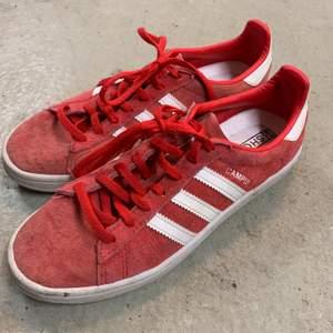 Röda sneakers