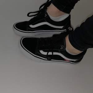 Fina vans skor i bra skick, använt dom ett antal gånger och känner nu att dom inte längre passar mig.