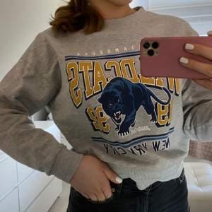 Sweatshirt med coolt tryck💓💓