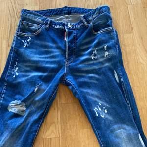 Dsquared jeans tyvärr har jag inget kvitto eftersom att det var en present och därför går jag ner i pris. Har kvar alla tags dock