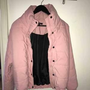 Brand new light pink bumper jacket