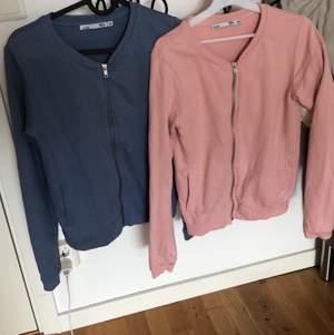 Säljer en blå och en rosa cardigan/kofta, aldrig använd passar xs, en för 45 eller båda för 75