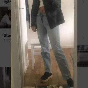 Super snygga raka jeans, från hm