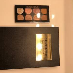 Säljer två paletter, kan köpas separat! Använda men inte mkt, kom med prisförslag. ❌ Makeup revolution är såld ❌
