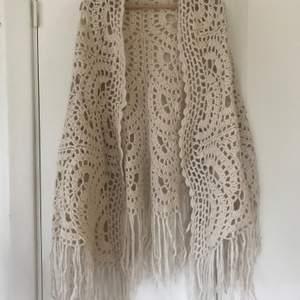 Virkad eller stickad halsduk/ sjal