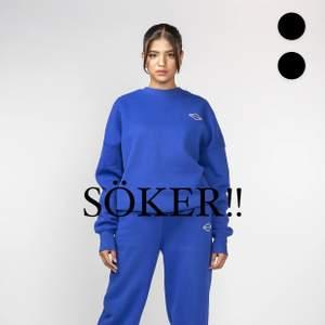 Söker denna blå tröja från Nicki Studios! I storlek XS! Skriv till mig om du säljer eller vet någon som gör!💙