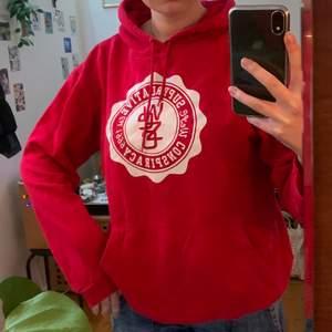Wesc hoodie i stl m, begagnat skick men inga defekter, frakt 66kr❣️