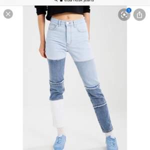 Så snygga jeans från Elsa hosks kollektion med BikBok i strl S, topp skick